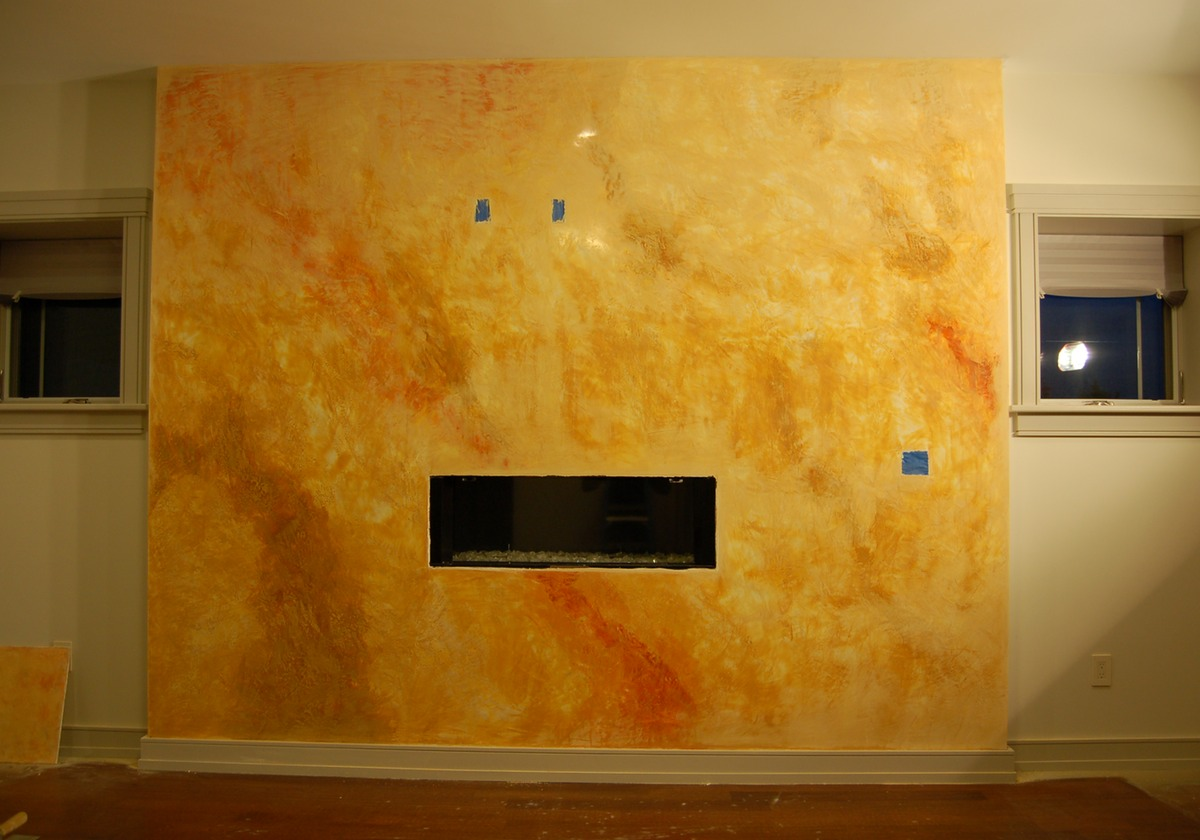 Venetian plaster - Cocciopesto - Tadelakt in the Boston area